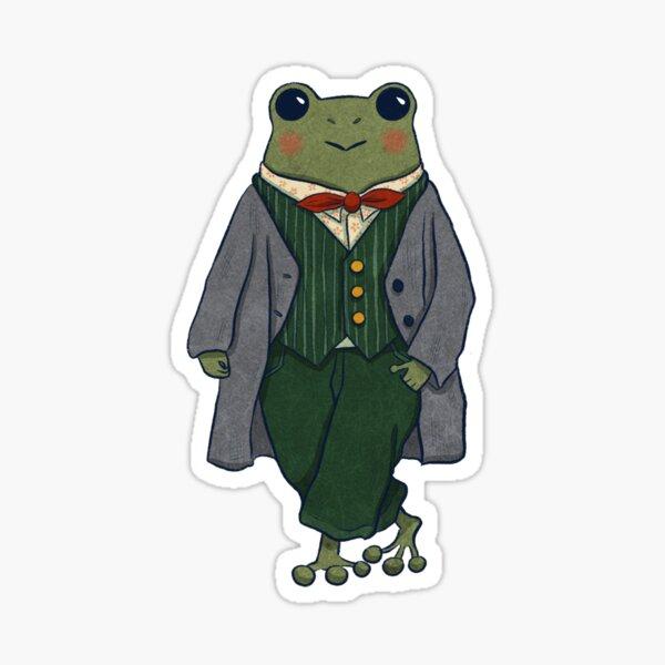 Mr. Frog - Dapper Sticker