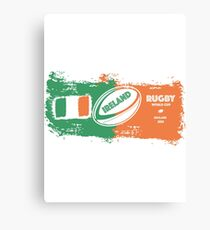 Ireland World Cup Rugby  Canvas Print