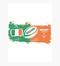 Ireland World Cup Rugby  Photographic Print