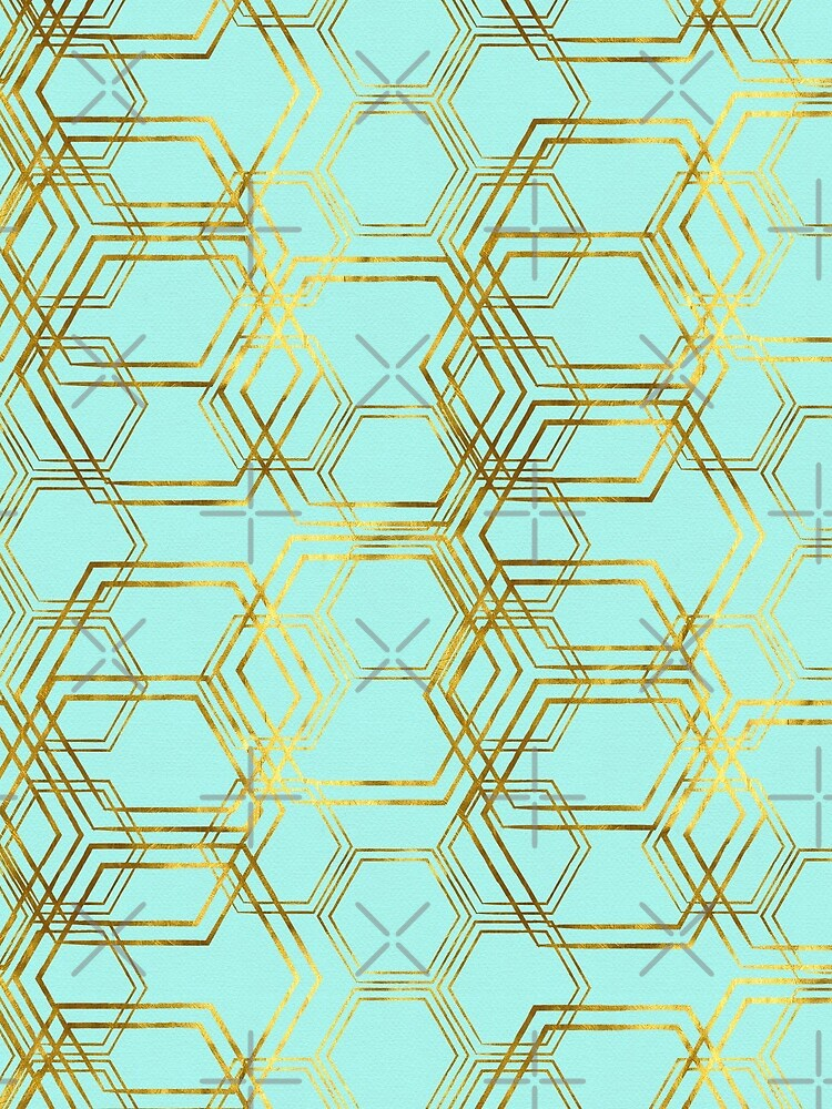 Hexagold by beththompsonart