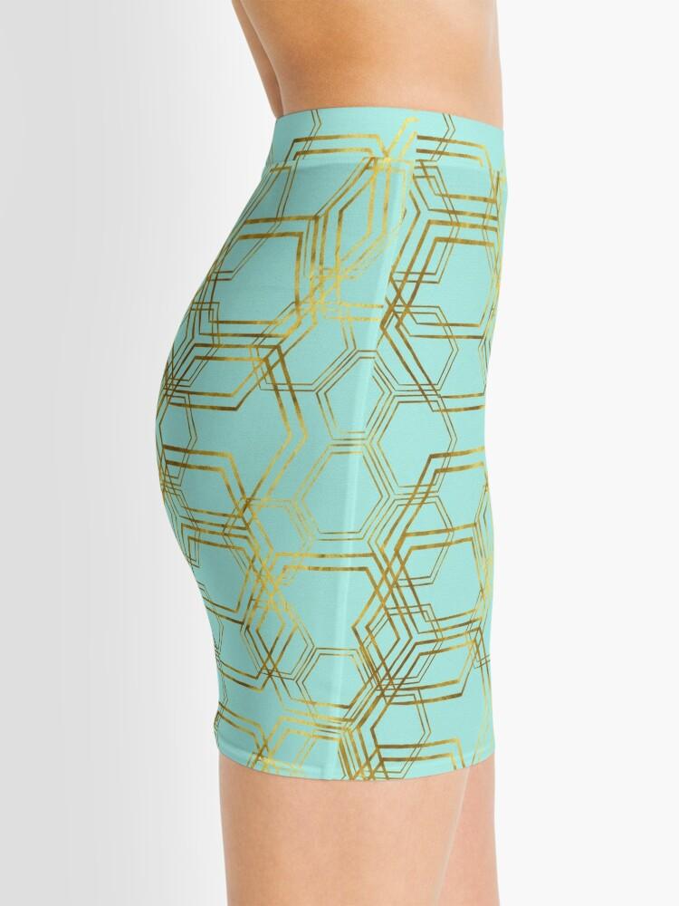 Alternate view of Hexagold Mini Skirt