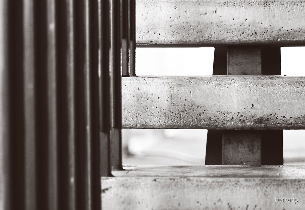 Stairs and shapes by bertadp