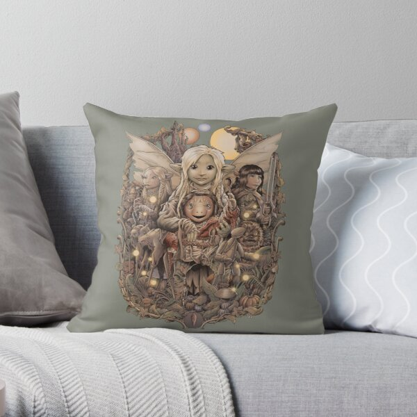 Return to Thra Throw Pillow
