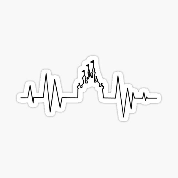 Castle Heartbeat Sticker