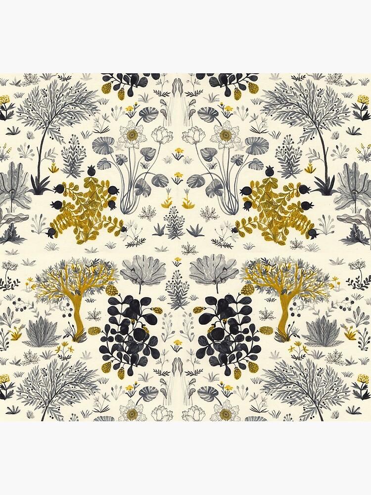 Flowers Poster/ Folar Pattern/Watercolor flower illustration/Floral pattern by spoto