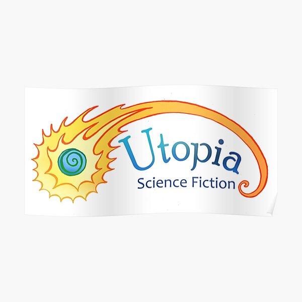 Utopia Science Fiction Logo Poster