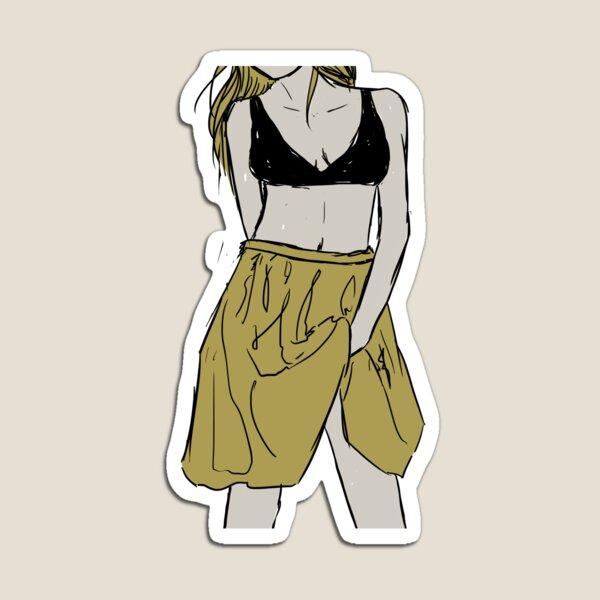Girl in bralette and skirt | The Freedom Magnet