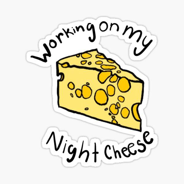 Night Cheese Sticker