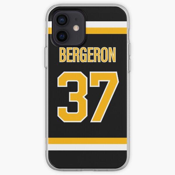 Patrice Bergeron Jersey iPhone Soft Case