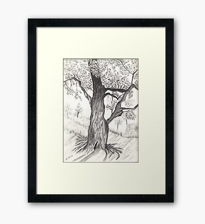 Fantasy Tree (2) Framed Print