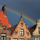 Bruges Rainbow by EHAM-spotter