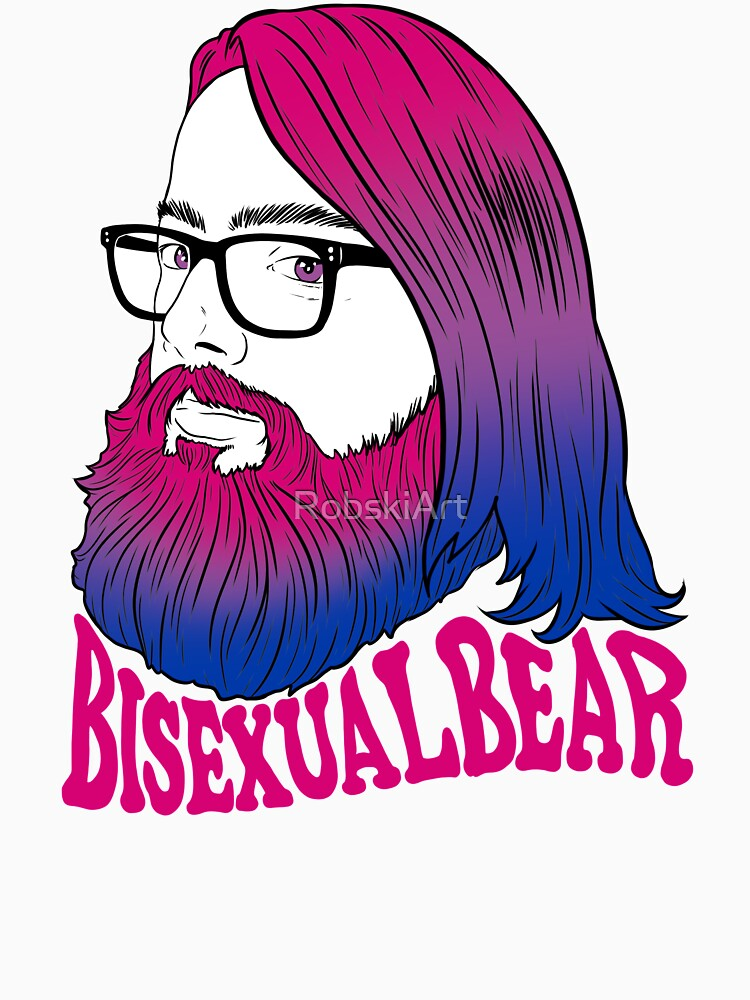 Bearded bisexual bear by RobskiArt