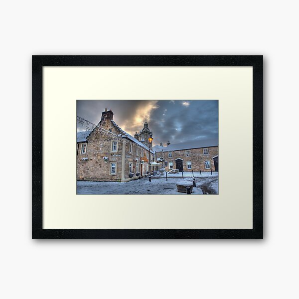 Montgomerie Arms Pub Framed Art Print