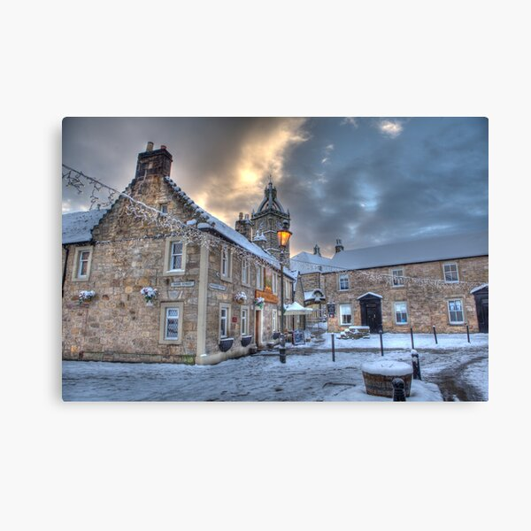 Montgomerie Arms Pub Canvas Print