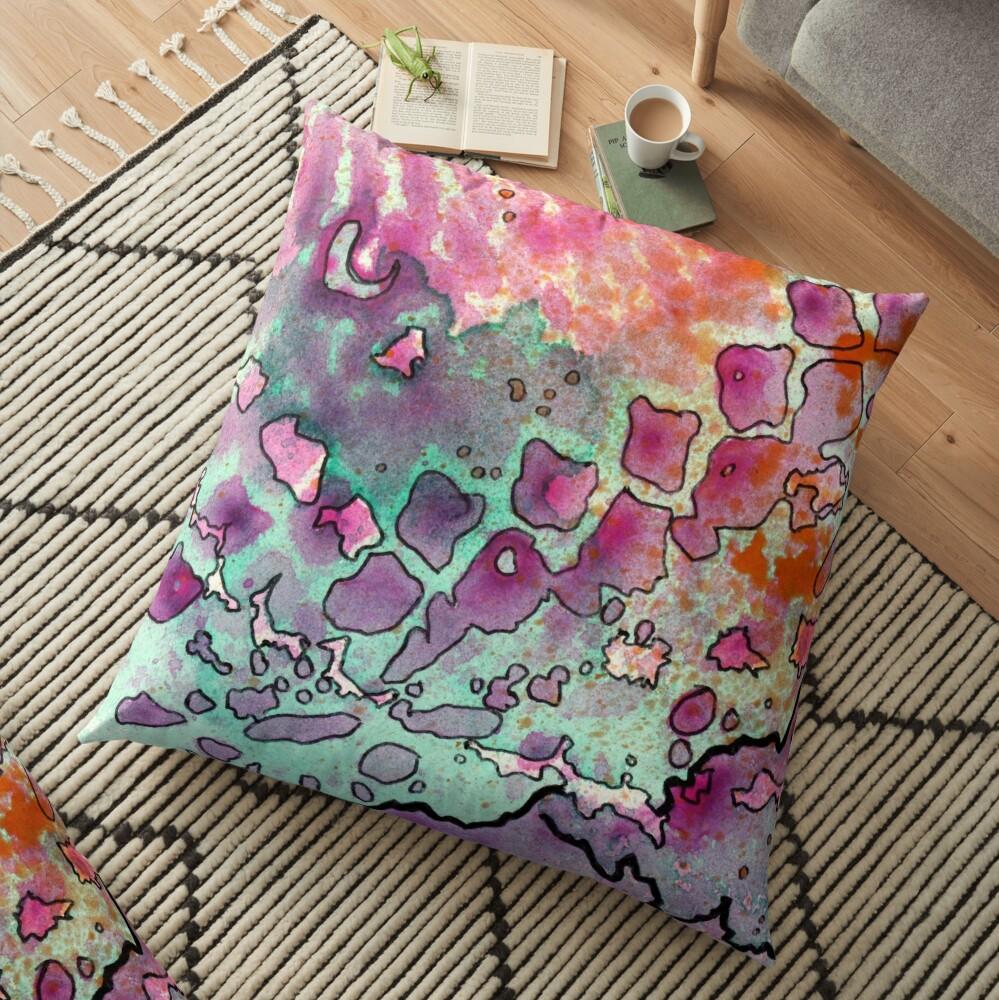 15, Inset A Floor Pillow