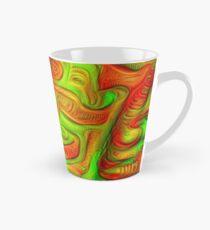 Green and red abstraction Tall Mug