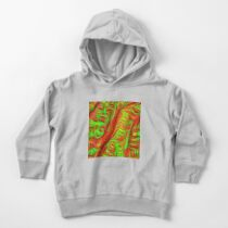Green and red abstraction Toddler Pullover Hoodie