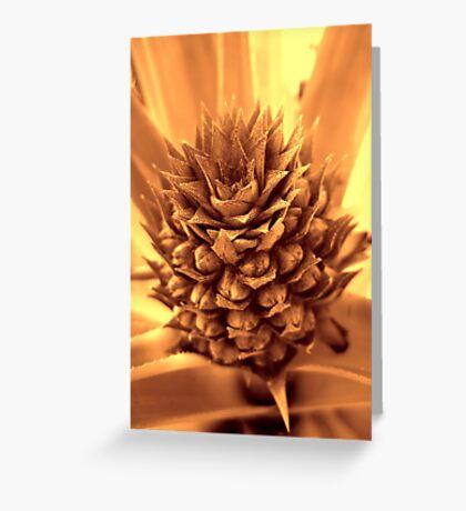 Otherworldly Pineapple Greeting Card