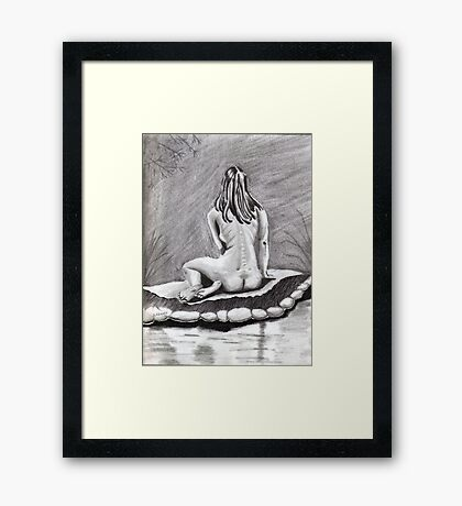 Woman's Backside (2) Framed Print
