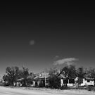 FULL MOON OVER PIE TOWN MOTEL by Thomas Barker-Detwiler