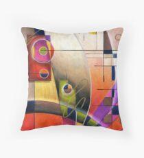 Kandinsky's Cadence  Throw Pillow