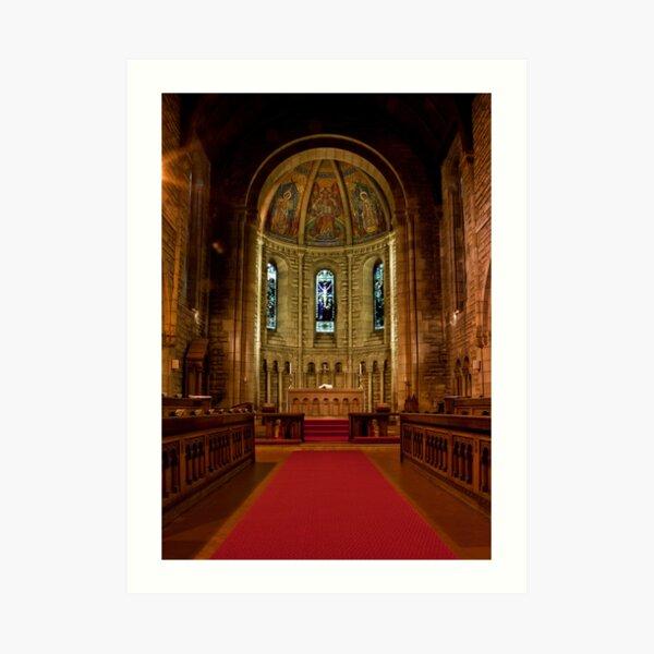 St Margaret's Church, Newlands, Glasgow, Scotland Art Print