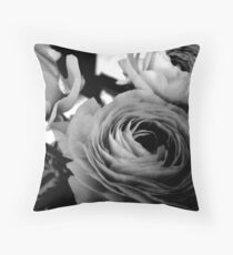 Ranunculus (Persian Buttercup) Throw Pillow