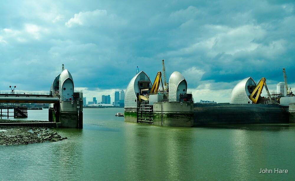 Thames Barrier  by John Hare