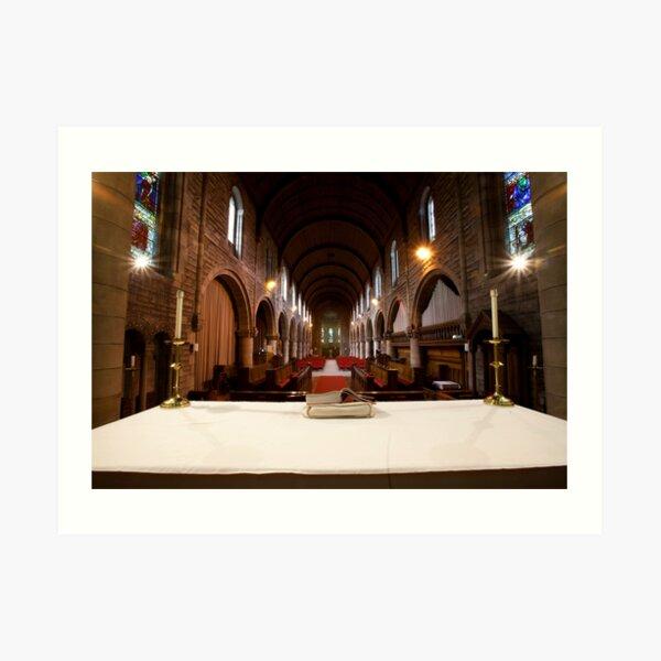 St Margaret's Church, Newlands, Glasgow, Scotland,  Art Print