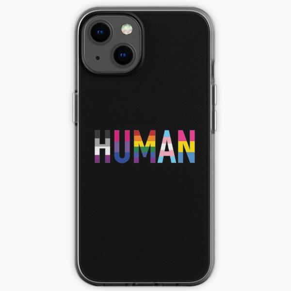 Human, Various Queer Flags 1 iPhone Soft Case
