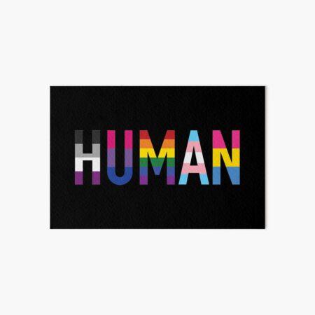 Human, Various Queer Flags 1 Art Board Print