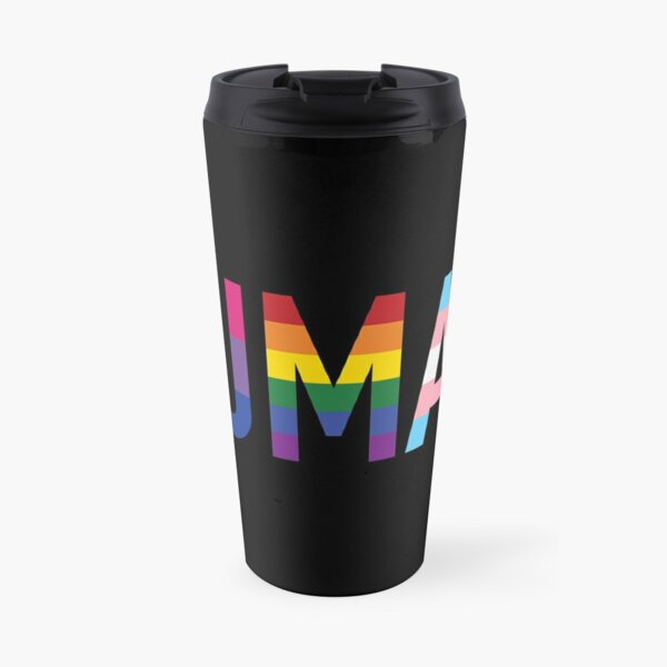 Human, Various Queer Flags 1 Travel Mug