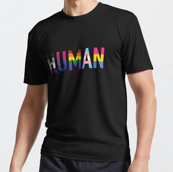 Human, Various Queer Flags 1 Active T-Shirt