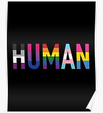 Human, Various Queer Flags 1 Poster