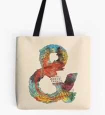 Psychedelic Ampersand Tote Bag