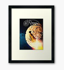 August Issue, Utopia Science Fiction Framed Print