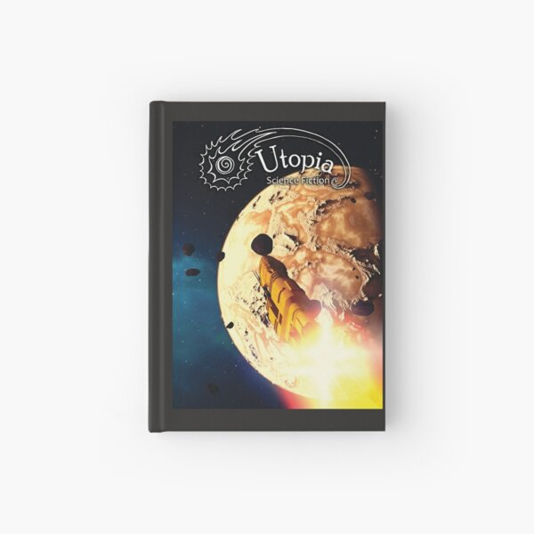 August Issue, Utopia Science Fiction Hardcover Journal