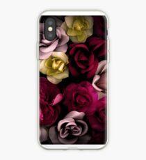 Vinilo o funda para iPhone Dark Floral