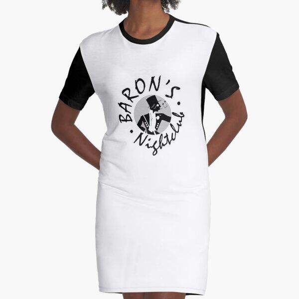 Baron's Graphic T-Shirt Dress