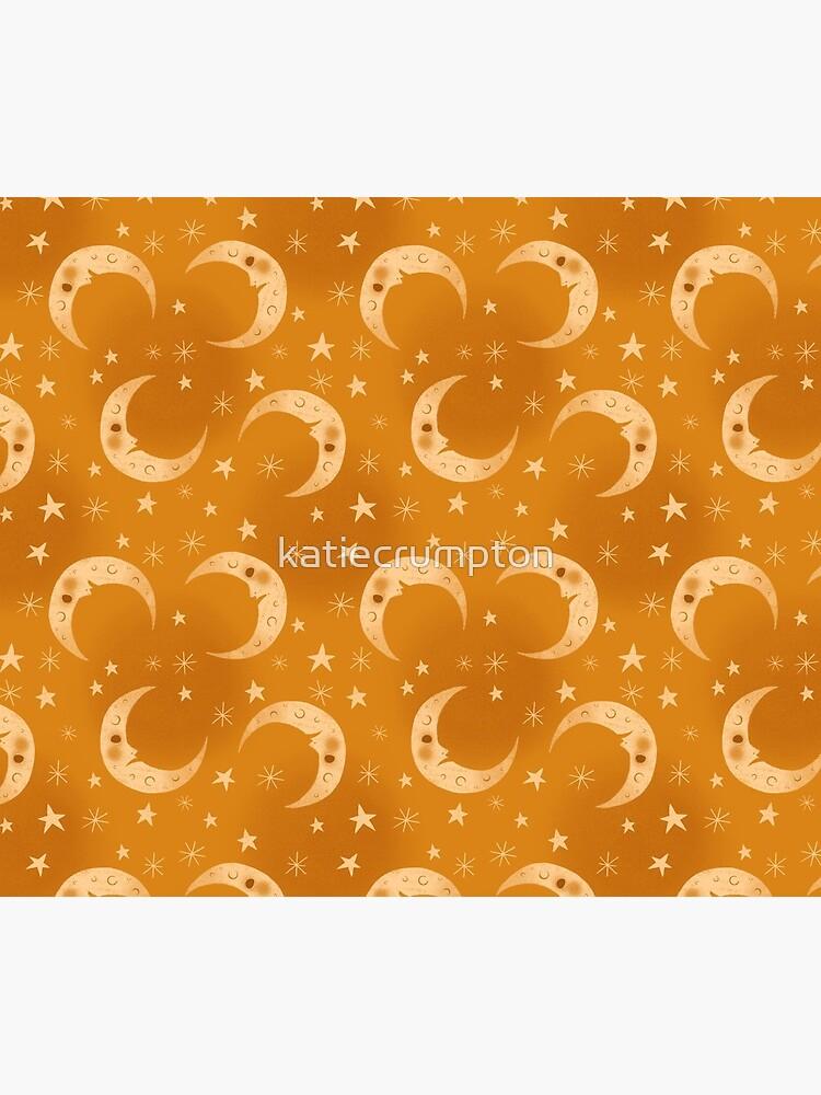 Yellow Moons and Stars by katiecrumpton