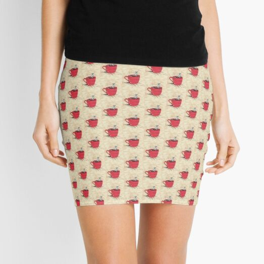 Coffee Break Mini Skirt