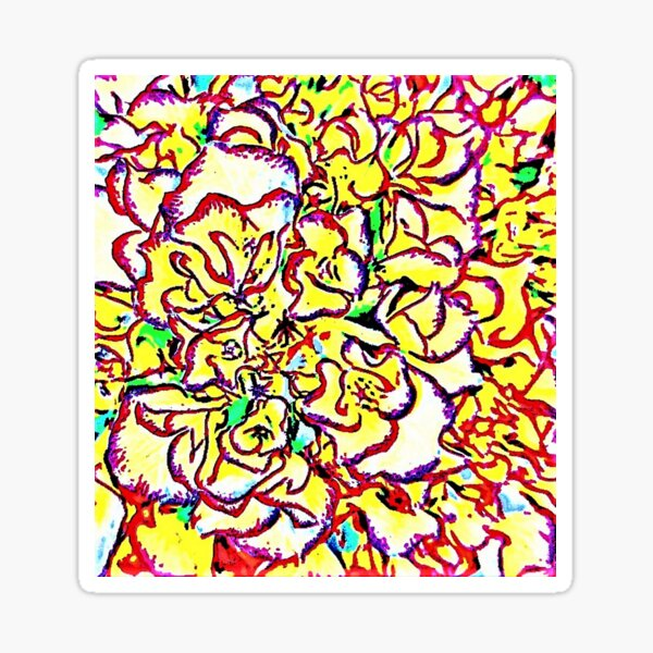Feast Of Floral Sticker
