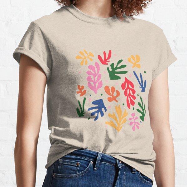 Matisse Fleurs Art T-shirt classique