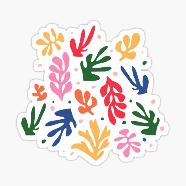 Matisse Fleurs Art Sticker