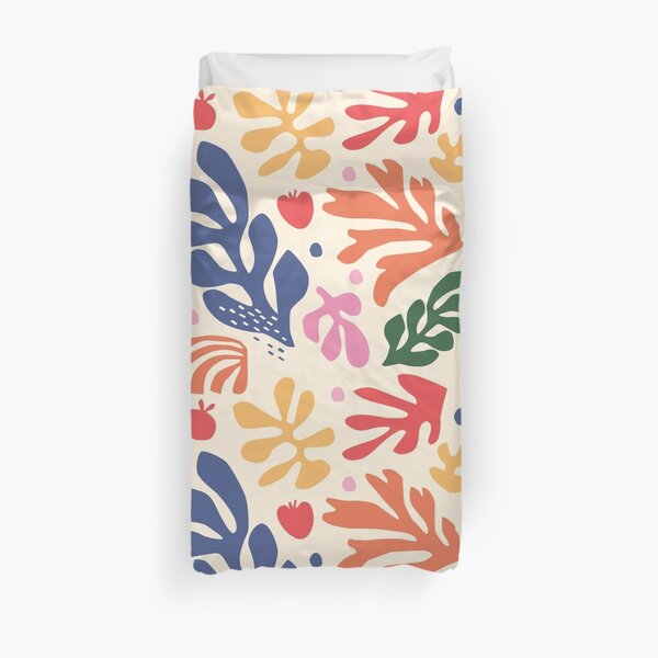 Matisse Flowers Art Duvet Cover