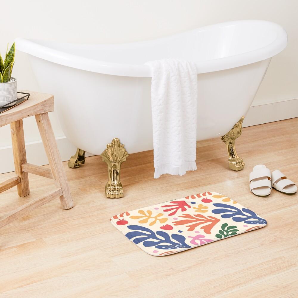Matisse Flowers Art Bath Mat