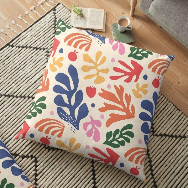 Matisse Flowers Art Floor Pillow