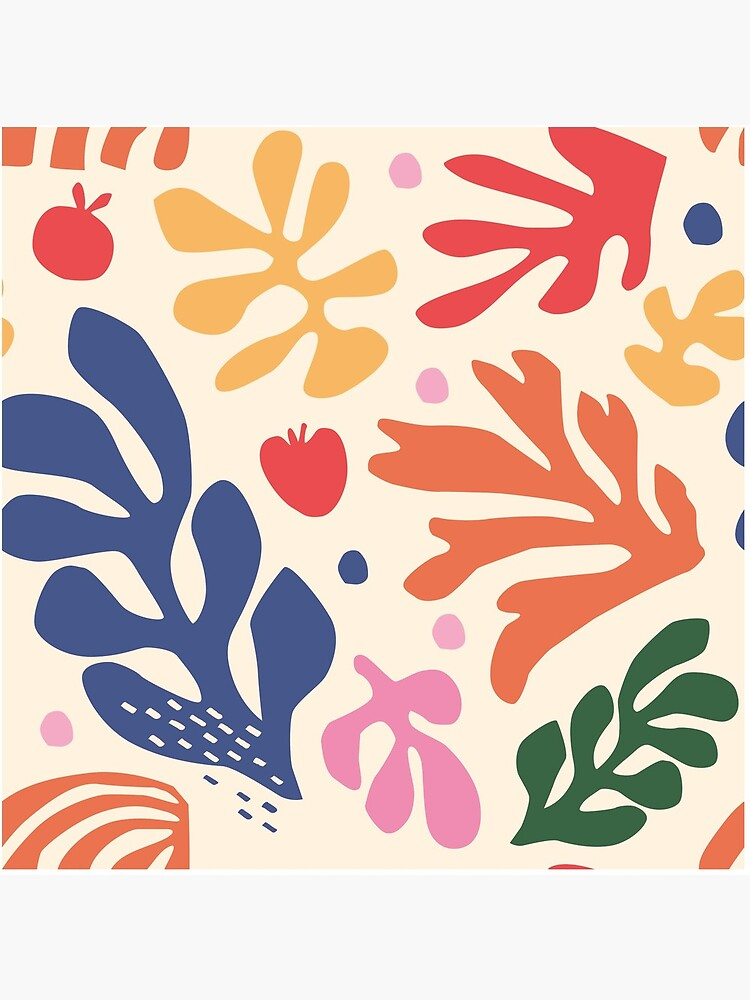 Matisse Flowers Art by EthanSix