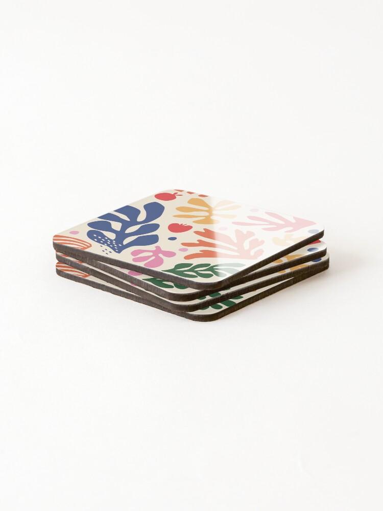 Alternate view of Matisse Flowers Art Coasters (Set of 4)