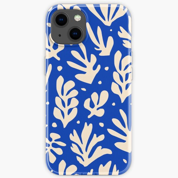 Leaves Pattern Plants Inspired by Henri Matisse iPhone Soft Case